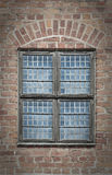 Malmohus Window. A close up view of one of the windows at Malmohus castle in Sweden Stock Images