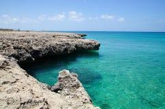 Malmok strand - Aruba Fotografering för Bildbyråer