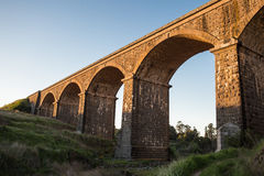 Malmsbury Viaduct at Sunset Stock Photos