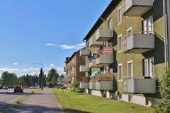 Malmudden in Luleå Fotografia Stock