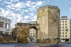 Malmuerta Tower,  Cordoba Spain. Malmuerta Tower is a watchtower located at the Santa Marina de Cordoba, Spain Royalty Free Stock Photography