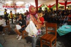 MALNUTRITION DE L'INDONÉSIE images libres de droits