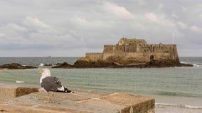 Malo Αγίου οχυρών Στοκ εικόνα με δικαίωμα ελεύθερης χρήσης