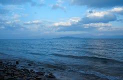Maloe More strait. Lake Baikal Royalty Free Stock Image