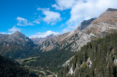 Maloja Pass near St. Moritz,. Switzerland Royalty Free Stock Image