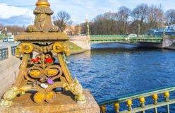 On Malokonushenny bridge Stock Photo