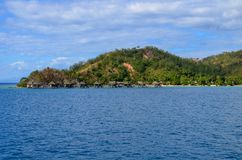 Malolo ö, Mamanucas, Fiji Arkivbild