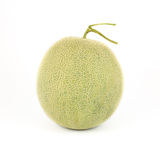Malon. Japanese Melon on the white background Stock Photography