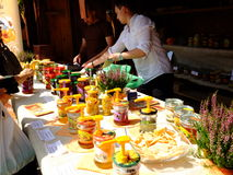 Malopolski Festival of Taste - the grand finale, presentation of exhibitors Royalty Free Stock Image