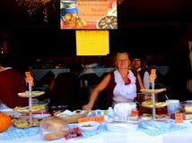 Malopolski festiwal smak - uroczysty finał, prezentacja eksponenty zdjęcie royalty free