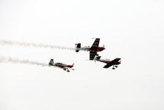 Malopolski Piknik Lotniczy (Air festival) in Cracow, P Royalty Free Stock Photography