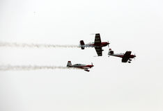 Malopolski Piknik Lotniczy (Air festival) in Cracow, P Royalty Free Stock Photo