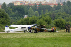 Malopolski Piknik Lotniczy (Air festival) in Cracow, P Stock Photography