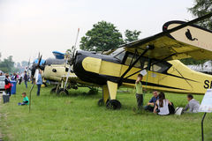 Malopolski Piknik Lotniczy (Air festival) in Cracow, P Royalty Free Stock Image