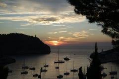 Malorca sunset Stock Photography