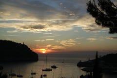 Malorca sunset Stock Images