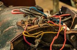 Malos alambres Foto de archivo libre de regalías
