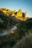 Malos Riglos, Huesca, Aragon, Spain Stock Images