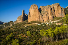 Malos Riglos, Huesca, Aragon, Spain Stock Photos