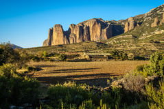 Malos Riglos, Huesca, Aragon, Spain Royalty Free Stock Images