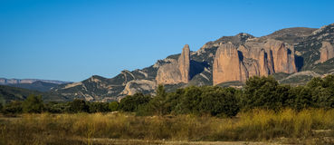 Malos Riglos, Huesca, Aragon, Spain Stock Photo