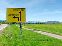 Malos Tölz - Sachsenkam - Oberbayern Foto de archivo libre de regalías