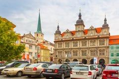 Malostranske Namesti in Prague, Czech Republic Stock Image