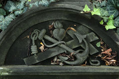 Malostransky Cemetery in Prague, Czech Republic. Royalty Free Stock Images