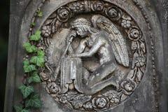 Malostransky Cemetery in Prague, Czech Republic. Stock Images