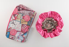 Malote cosmético da joia do saco e do curso Imagens de Stock Royalty Free
