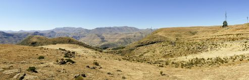 The Maloti Drakensberg Route. Is an exciting and innovative initiative that spans the borders between South Africa and the mountain kingdom of Lesotho Royalty Free Stock Photography
