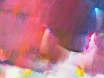 Malować kolor teksturę Abstrakcjonistycznych tło jaskrawych kolorów artystyczni pluśnięcia kolor tła wielo- Fractal grafika dla k ilustracja wektor