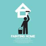 Malować Domowego pojęcie Zdjęcia Stock