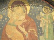 Malować w Kremlin obrazy royalty free