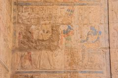 Malowa? w s?dzie Ramesses II zdjęcia stock