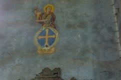 malować w starym kościół fotografia royalty free
