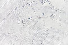 Malować zamknięty biały kolor up Zdjęcia Stock