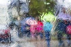 Malować deszcz zdjęcia royalty free