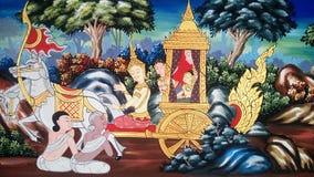 malować tajlandzki Zdjęcie Stock