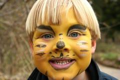 malować twarzy Obraz Royalty Free