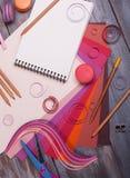 malowanie dostawy Zdjęcie Stock