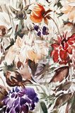 malowanie kwiatów ilustracja wektor
