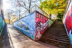 Malowidła ścienne w odważniaku, Niemcy Zdjęcie Stock