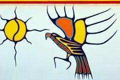 Malowidła ściennego śródmieście Halifax Zdjęcie Stock