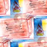 Malowidła ściennego tła ciężarówki wzoru tła tekstury bezszwowy wa Obraz Stock