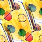 Malowidła ściennego tła farby bezszwowa deseniowa tekstura Obrazy Royalty Free