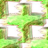 Malowidła ściennego tła krzyża wzoru bezszwowa tekstura Obrazy Royalty Free