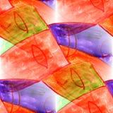 Malowidła ściennego tła maskowego wzoru tła bezszwowa tekstura wal Obrazy Stock