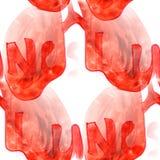 Malowidła ściennego tła płuc bezszwowa deseniowa tekstura Zdjęcie Stock