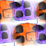 Malowidła ściennego tła przyczepy tła tekstury bezszwowy deseniowy wa Obrazy Stock